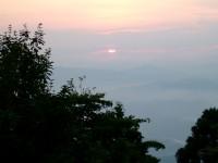 金剛山の日の出
